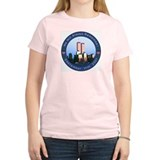 Women's 9/11 T-Shirt avail Pink, Blue or Yellow