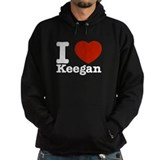 I Love Keegan Hoodie