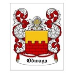 Odwaga Coat of Arms Small Poster