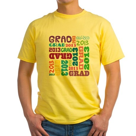 Class Of 2013 Colorful Yellow T-Shirt