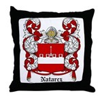 Natarcz Coat of Arms Throw Pillow