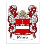 Natarcz Coat of Arms Small Poster