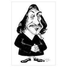 Rene Descartes, caricature