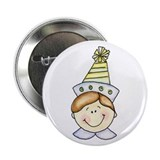 Boy Birthday Button (light hair)