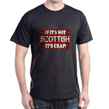 If it's not Scottish, It's Cr Black T-Shirt