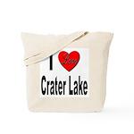 I Love Crater Lake Tote Bag