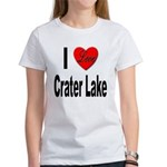 I Love Crater Lake (Front) Women's T-Shirt