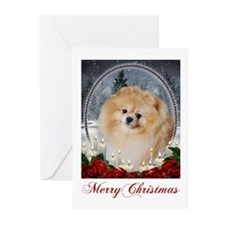 Pomeranian Xmas Cards (Pk of 20