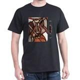Guitare Flamenca Black T-Shirt