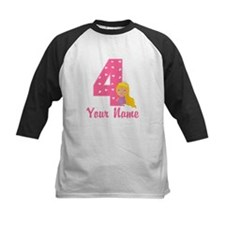 4th Birthday Princess Tee