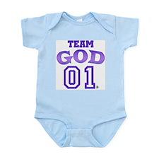 Team God Infant Creeper
