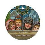 Victorian Children Personalized Ornament