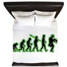 Silly Walks King Duvet