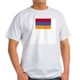 Flag of Armenia 5 Ash Grey T-Shirt
