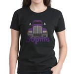 Trucker Sophie Women's Dark T-Shirt