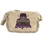 Trucker Sophie Messenger Bag
