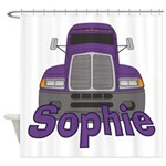 Trucker Sophie Shower Curtain