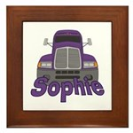 Trucker Sophie Framed Tile