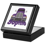 Trucker Sophie Keepsake Box