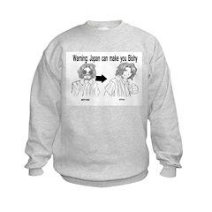 Japan can make you Bishy Kids Sweatshirt
