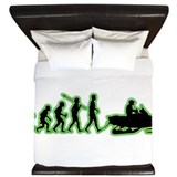 Snowmobile King Duvet