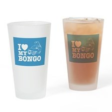 I Love My Bongo - Drinking Glass