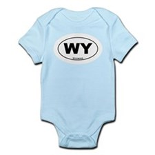 Wyoming State Infant Bodysuit