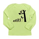 Tree Climbing Long Sleeve Infant T-Shirt