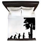 Tree Hugger King Duvet