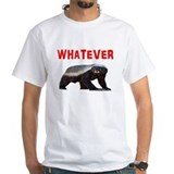 Cute Honey badger dont give a shit Shirt