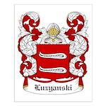 Luzyanski Coat of Arms Small Poster