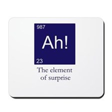 The element of surprise Mousepad