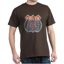 *VINTAGE* Route 666 Black T-Shirt