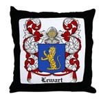 Lewart Coat of Arms Throw Pillow