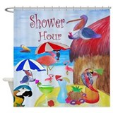 Shower Hour Tropical Birds