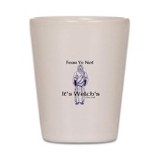 Welchs Shot Glass