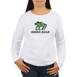 Green Boar Organic Tea Logo T-Shirt