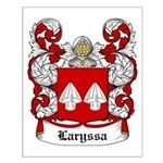 Laryssa Coat of Arms Small Poster