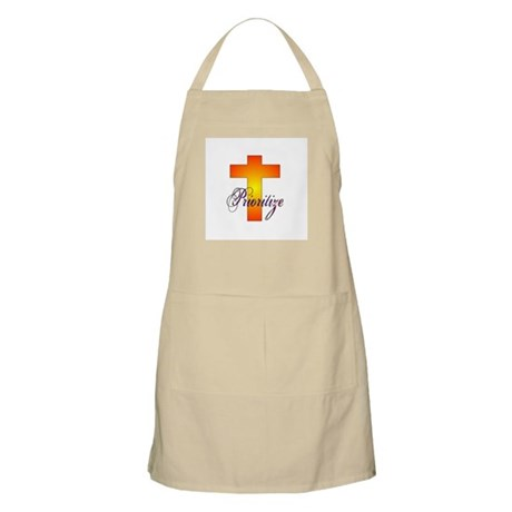 Prioritize Cross BBQ Apron