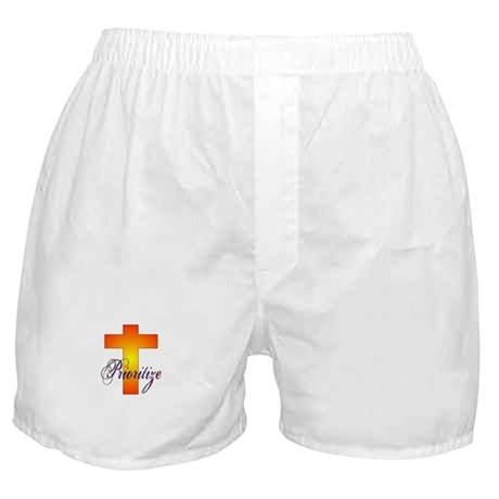 Prioritize Cross Boxer Shorts
