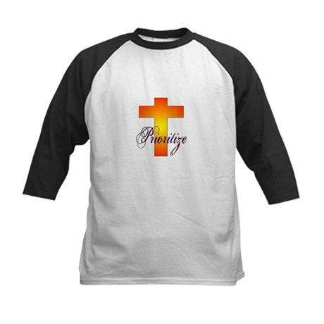 Prioritize Cross Kids Baseball Jersey