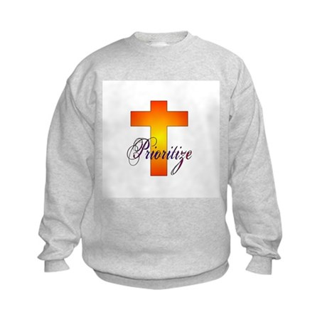 Prioritize Cross Kids Sweatshirt