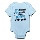 100 percent perfect baby boy Onesie