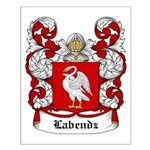 Labendz Coat of Arms Small Poster