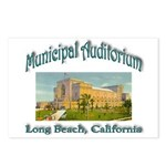 Long Beach Municipal Auditorium Postcards (Package