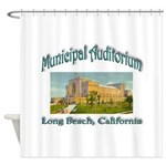 Long Beach Municipal Auditorium Shower Curtain
