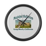 Long Beach Municipal Auditorium Large Wall Clock