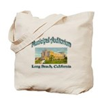 Long Beach Municipal Auditorium Tote Bag