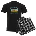 Long Beach Municipal Auditoriu Men's Dark Pajamas