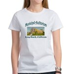 Long Beach Municipal Auditorium Women's T-Shirt